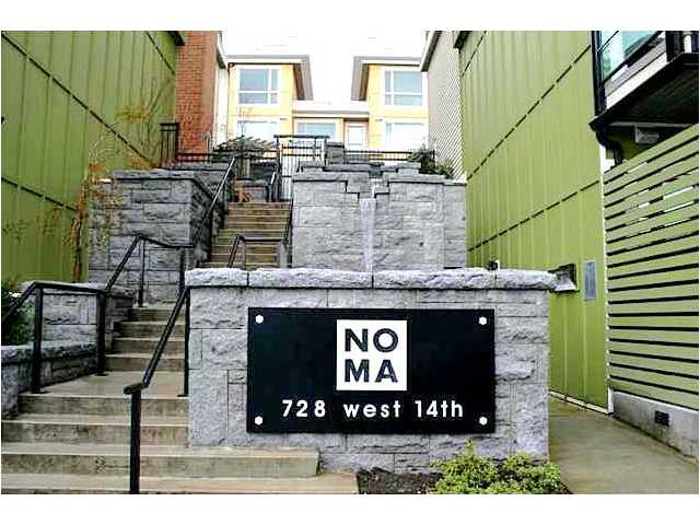 # 35 728 W 14TH ST - Hamilton Townhouse for sale, 3 Bedrooms (V864589) #1
